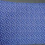 Vankúš plnený pohánkovými šupkami -modrý,biele mašličky