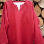 Košeľa červená